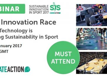 The Innovation Race – How Technology is Driving Sustainability in Sport