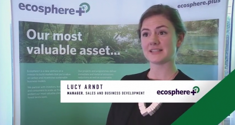 Interview with Lucy Arndt, Manager, Sales and Business Development, Ecosphere+ at SIIS17