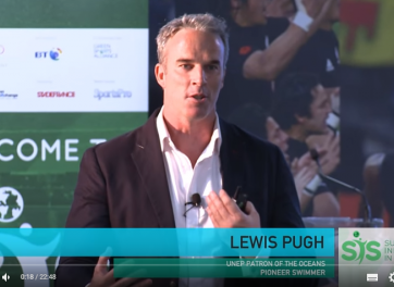 Inspirational Address - Lewis Pugh, UNEP Patron of the Oceans, Pioneer Swimmer